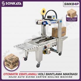 Sonkaya SMKB4P Ebatlamalı Koli Bantlama Makinası 50x50cm