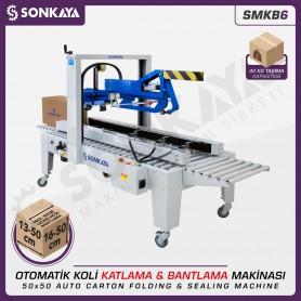 Sonkaya SMKB6 Automatic Carton Folding Sealing Machine 50x50cm