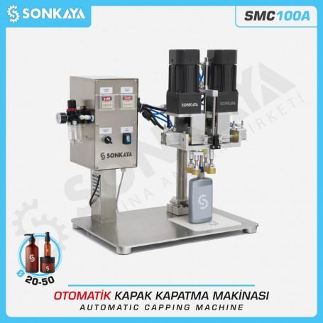 SONKAYA SMC100A Otomatik Kapak Kapatma Makinası
