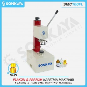 SONKAYA SMC100FL Flakon & Parfüm Kapatma Makinası