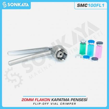 SONKAYA SMC100FL1 Flip Off Flakon Kapatma Pensesi 20mm