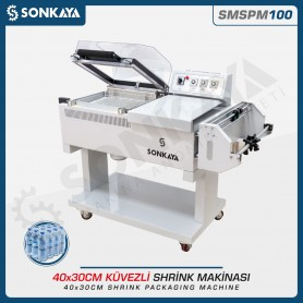 Sonkaya SMSPM100 Shrink Packaging Machine 40x30cm