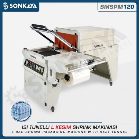 Sonkaya SMSPM120 L-Shrink Packing Machine With Heat Tunnel