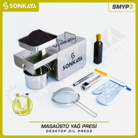 Sonkaya SMYP3 Desktop Mini Oil Press Machine