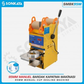 Sonkaya SMBK95M Manuel Bardak Kapatma Makinası 95mm