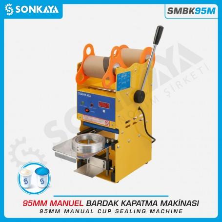 SMBK95M Manual Cup Sealing Machine 95mm