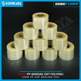 Sonkaya SMBKF130PP Polipropilen Clear Cup Sealing Film 13cm
