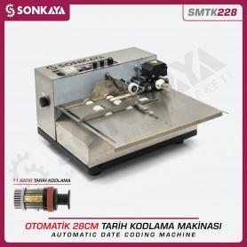 Sonkaya SMTK228 Otomatik Tarih Kodlama Makinası 11 Satır 28cm