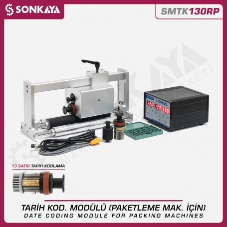 Sonkaya SMTK130RP Automatic Date Coder For Horizontal Packing Machines
