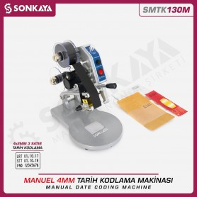 Sonkaya SMTK130M Manual Date Coding Machine