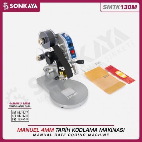 Sonkaya SMTK130M Manuel Tarih Kodlama Makinası