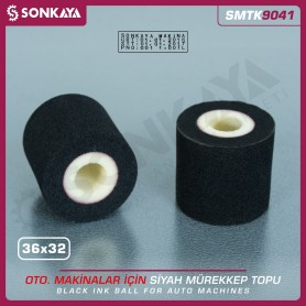 Sonkaya SMTK9041 Solid Ink Roller Black 36x32mm for Date Coders