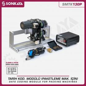 SMTK130P Otomatik Tarih Kodlama Modülü Paketleme Makinaları İçin 4 Satır