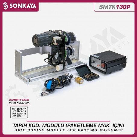 Sonkaya SMTK130P Auto. Date Coder For Packing Machines