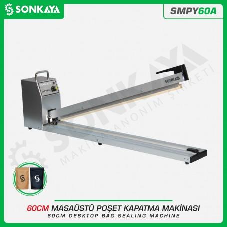 Sonkaya SMPY60A 60cm Poşet Ağzı Yapıştırma Makinası