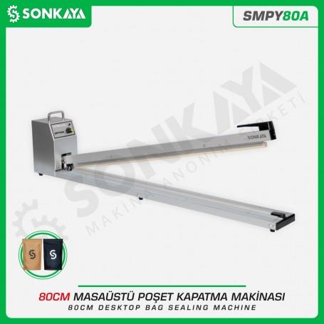 Sonkaya SMPY80A 80cm Poşet Ağzı Yapıştırma Makinası