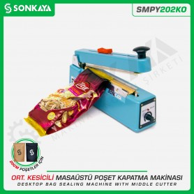 Sonkaya SMPY202KO 20cm Impulse Bag Sealing Machine With Middle Cutter