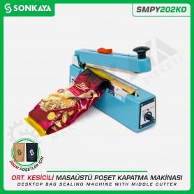 Sonkaya SMPY202KO 20cm Manuel Poşet Ağzı Kapatma Makinası Kesicili