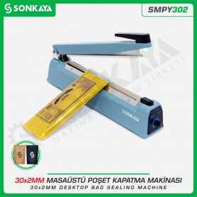Sonkaya SMPY302 30cm Impulse Bag Sealing Machine Iron Body