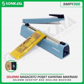 Sonkaya SMPY302 30cm Masaüstü Manuel Poşet Ağzı Kapatma Makinası Demir