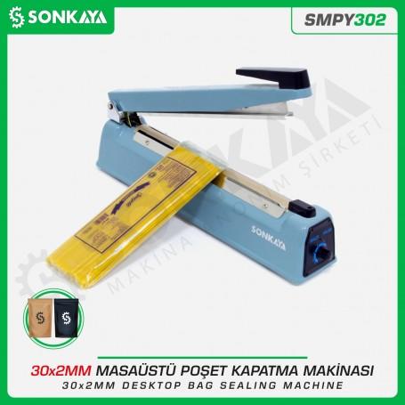 Sonkaya SMPY302 30cm Impulse Bag Sealing Machine Iron Body