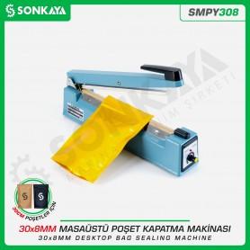 Sonkaya SMPY308 30cm*8mm Masaüstü Manuel Poşet Ağzı Kapatma Makinası Demir
