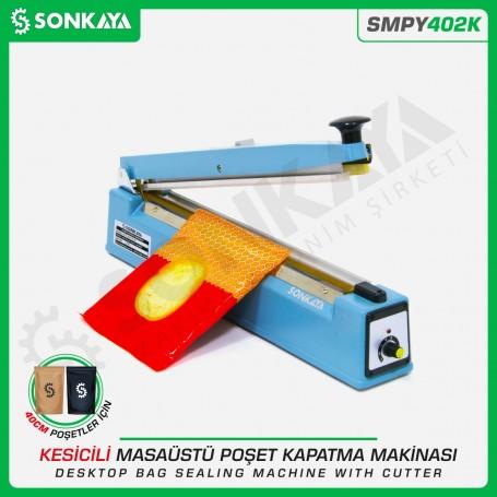 Sonkaya SMPY402K 40cm Masaüstü Manuel Poşet Kapatma Makinası Kesicili