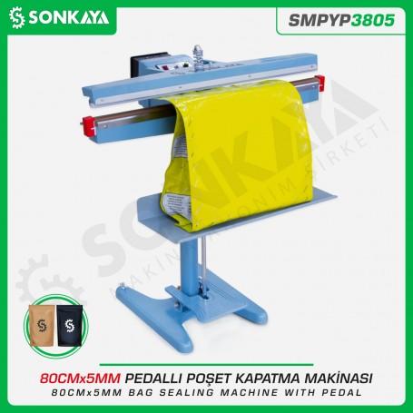 Sonkaya SMPYP3805 Bag Sealing Machine With Pedal 80CM 5MM