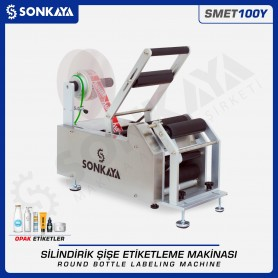 Sonkaya SMET100Y Semiauto Round Bottle Labeling Machine