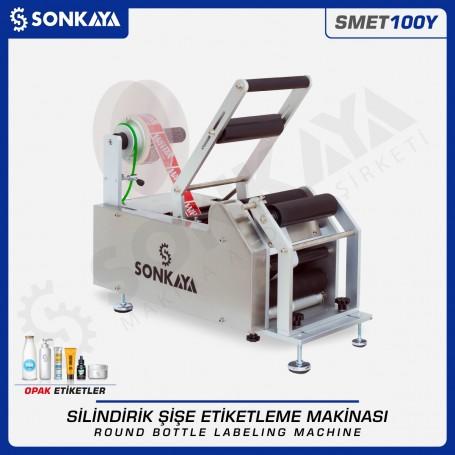 Sonkaya SMET100Y Semiauto Round Bottle Labeling Machine