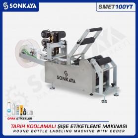 Sonkaya SMET100YT Semiauto Labeling Machine With Coder