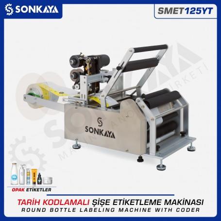 Sonkaya SMET125YT Semiauto Labeling Machine With Coder
