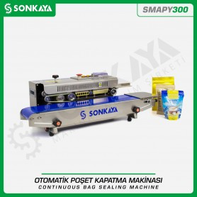 Sonkaya SMAPY300 Stainless Continuous Bag Sealing Machine