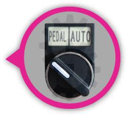 Sıvı dolum makinası otomatik ve pedal kontrol modları hakkında